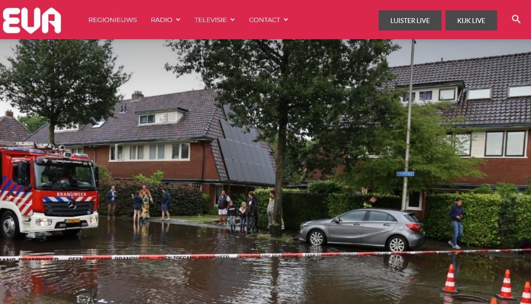 Wateroverlast op de Leusderweg